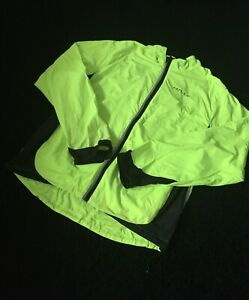 Hilly High Vis Waterproof Thin Cycling Jacket Size XL