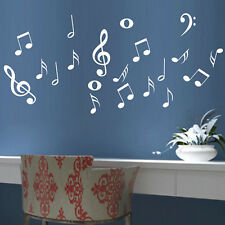 DIY Musical Notes Music Wall Decal Art Decor Vinyl Home Living Room Stickers