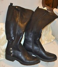 Womens Baretraps Black Olivia 8 1/2 Button Boots