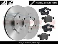 FOR VAUXHALL ASTRA MK5 04-09 REAR SOLID BRAKE DISC DISCS PADS KIT SET 5 STUD*