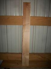 "Guitar Neck Hard Maple Wood Kiln Dried Stabilized 13/16"" Clear Lot 254B Flat"