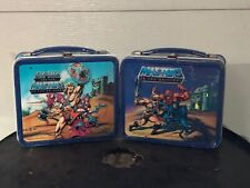 Masters Of The Universe Lunch Box 1983 & 1984 Lot Of Two Boxes