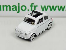 SOL19 Voiture 1/43 SOLIDO (Made in france) FIAT 500 toit ouvrant - 1957