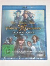 Pirates of the Caribbean Salazars Rache NEU OVP Blu Ray Fluch der Karibik 5
