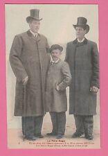 06 - Le Père HUGO et ses 2 Fils 2m30 et pesant...Nés à SAINT MARTIN (Vésubie ?)