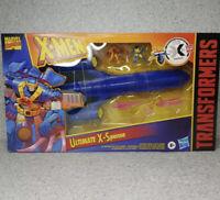 New 2021 Hasbro Transformers Marvel X-Men Blackbird Ultimate X-Spanse Figure