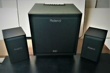 Roland CM 220 2.1 200-watt Active Monitor System For Electronic Instruments