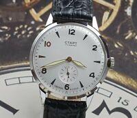 WristWatch START Mechanical Men's watch 2MCHZ 15 JEWELS Vintage Style USSR