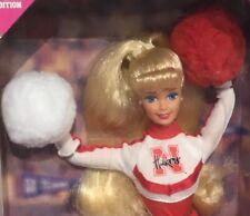 1996 Nebreska Huskers University Cheerleader Barbie doll NRFB