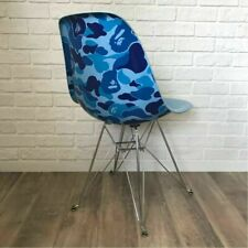 2009 MODERNICA × BAPE CAMO SIDE CHAIR ABC camo blue Japan It is excellent