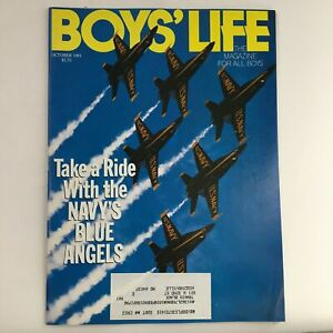 Boys' Life Magazine October 1991 Take A Ride with the Navy's Blue Angels