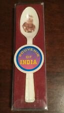 Collectible Spoon From India - Ceramic Bone China - Elephant - With Box