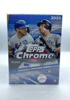 Topps Chrome 2020 Blaster Box MLB (8 Packs) Sepia Refractors Rookie Chase