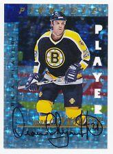 1997-98 Be A Player Prismatic Die Cut DEAN CHYNOWETH Auto Rare Bruins SP /100