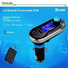 USB Bluetooth sans fil kit voiture transmetteur FM radio MP3 musique lecteur
