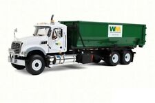 Waste Management Mack Roll off Refuse Diecast Trash Truck 1:34 First Gear 12inch