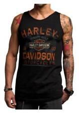 Harley Davidson Chrome Charger Black Tank Top NWT Men's XXXL