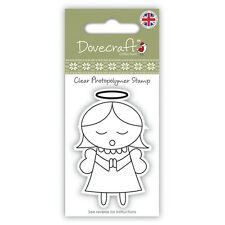 ANGEL - DOVECRAFT CHRISTMAS - MINI CLEAR PHOTOPOLYMER STAMP