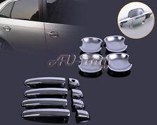 For Suzuki Swift 2005-2010 Grand Vitara Chrome Door Handle Cover +Cup Bowl combo