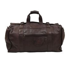 Vintage Arrow 1897 Montreal Duffle Leder Leather Weekender Braun Brown Rustic