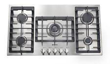 Verona Vectgm365ss Designer Series 36 5 Burner Gas Cooktop Stainless Steel