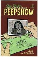 PEEPSHOW #4, NM-, Joe Matt, 1st, Indy, 1992, more indies in store