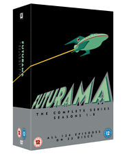 Futurama: The Complete Seasons 1-8 (DVD, 2015, 23-Disc Set)