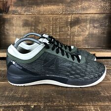 Men's Reebok Crossfit Nano 8 Flexweave Green Athletic Shoes Size 8