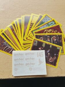 Panini Harry Potter & the Philosopher's Stone Sticker 2001 *Complete Collection*