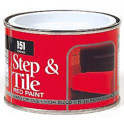 151 Coatings Step & Tile Paint 180ml Red