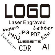 Logo design Laser Engraved on Metal Plastic Or Wooden USB Flash Drive
