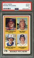 1978 topps #703 rookie pitchers JACK MORRIS detroit tigers rookie card PSA 9