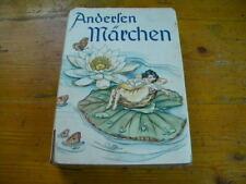 1938 MÄRCHEN von HANS CHRISTIAN ANDERSEN Bilder RUTH KOSER-MICHAELS Knaur Berlin