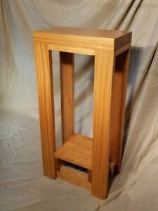 "End Tables- Custom Handmade Solid Pine 25.5""(h) X 7.25 (d) X 12"" (w)"