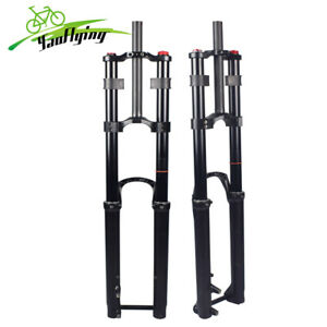 """29"""" MTB Air Suspension Boost Fork DH Bicycle Bike Forks 200mm Travel 110*15mm"""