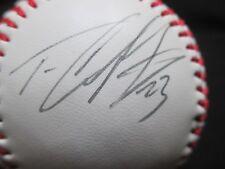 TIM CRABTREE SIGNED AUTOGRAPHED W/ COA BASEBALL AUTOGRAPH BALL