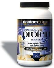 Pure Whey Protein 2LBS! plus 1000 mgs of L-Glutamine French Vanilla Flavor! 22Gs