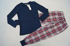 ESPRIT  Schlafanzug / Pyjama  Gr.140/146, 152/158,  170/176 dunkelblau  NEU