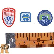 BR Team Leader - EMT Patches Set - 1/6 Scale - Craftone Action Figures