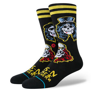 Stance x Guns N' Roses Appetite For Destruction Crew Rock Socks Large Men's 9-13