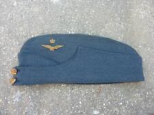 More details for wwii raf royal air force officer's side cap / hat, large 57 - 60 cm