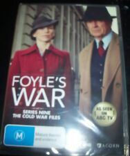 Foyle's Foyles War Ninth Season Series 9 The Cole War Files (Aus Reg 4) DVD NEW