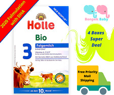 New Holle Stage 3 Organic Baby Formula 4 Boxes Free Shipping - Original Germany