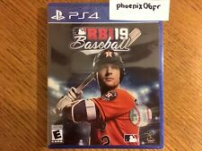 Brand New! R.B.I. RBI Baseball 19 2019 (Sony PlayStation 4 PS4) Factory Sealed!