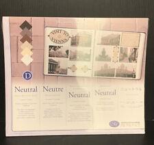 Creative Memories 10 x 12 Neutral Photo Mounting Paper Nip Scrapbooking
