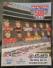 PEPBOYS 500 RACING PROGRAM - ATLANTA - OCTOBER 28, 2007