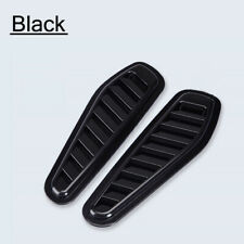 Black Universal Car Decor Air Flow Intake Scoop Bonnet Side Fender Vent Hood