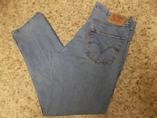 LEVIS 505 REGULAR STRIGHT MEN'S JEANS SIZE 34 X 31 - Free Shipping