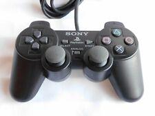 PlayStation 1 PS2 Original official Controller Black color Dualshock 2 JAPAN F/S