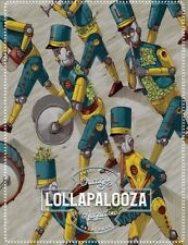 Lollapalooza 2017 Commemorative Lineup Poster: CHANCE, ARCADE FIRE, THE KILLERS